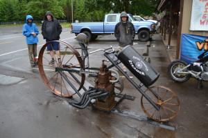 Traditionelle Fortbewegungsmittel in Oregon