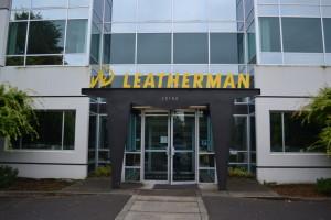 Das einzige Bild von der Leatherman-Tour. Fotos sind verboten.