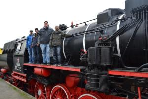 Die ICB-Taskforce hat eine Lokomotive erobert