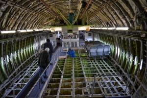 So sieht die 747 von innen aus