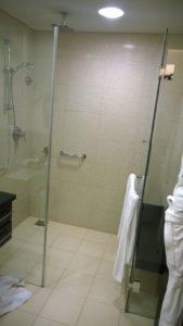 Die Dusche ist von der Muramaxklasse