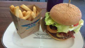 Der gute Burger entschädigt für das nicht gefundene Kängurufleisch.