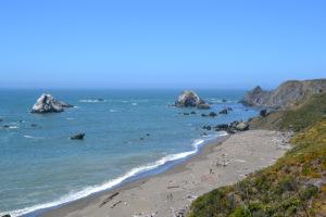 Pazifikküste wieder mal