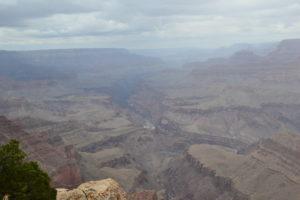 Grand Canyon bei Schlechtwetter
