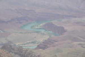 Der Colorado River gräbt weiter fleißig den Canyon aus