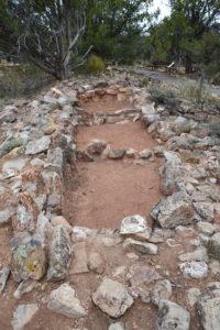 Alte Indianergebäude. Die wussten auch schon, wo die schönsten Baugründe sind...