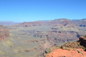 Abstieg in den Grand Canyon