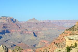 Grand Canyon bei Sonnenschein