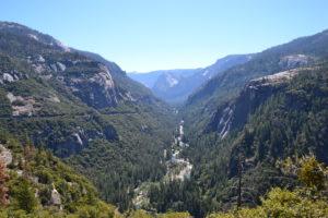 Blick zurück ins Yosemite Valley