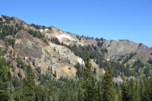 Viel Landschaft im Lassen Volcanic NP