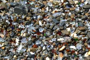 Das Glas von Glass Beach